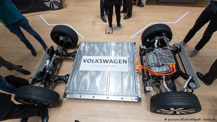 Volkswagen electric car platform