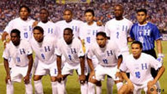 Nationalteam aus Honduras (EPA/STR)