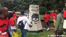 Demonstration gegen Kohle in Kenia