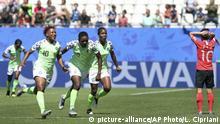 Frankreich FIFA Frauen WM | Nigeria Jubel