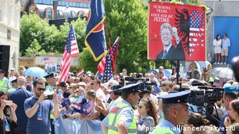 20. Jahrestag des Beitritts der NATO zum Kosovo (picture-alliance/V. Kryeziu)