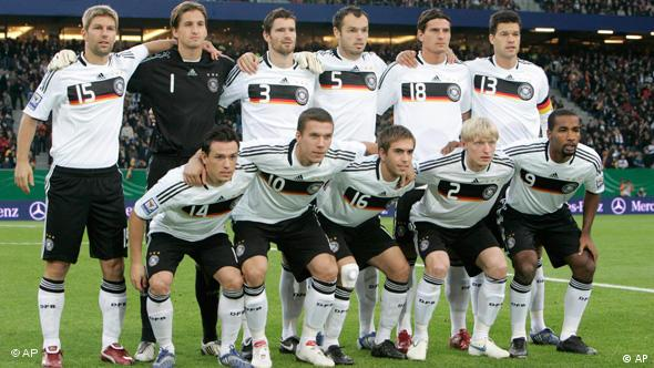 German national team (photo: AP Photo/Joerg Sarbach)