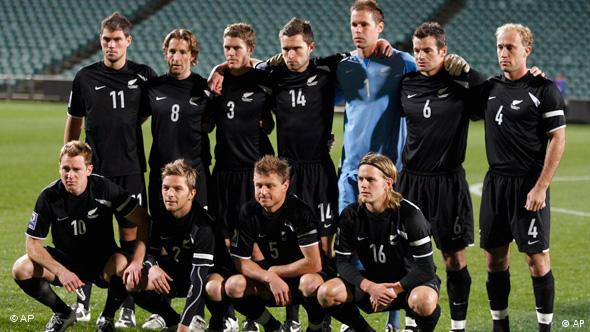 New Zealand's soccer team the All Whites