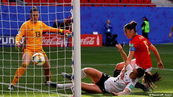 Frauenfußball deutschland spanien