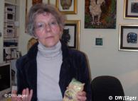 Gisela Herth, die Eigentümerin des Dünenhotels 'Eulenhof' (Foto: DW)