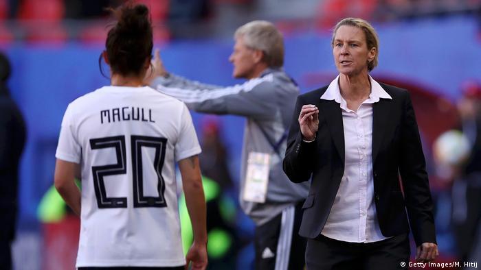 Fußball-Frauen-Weltmeisterschaft - Deutschland vs Spanien
