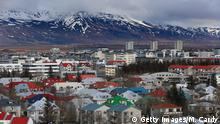 REYKJAVIK, ICELAND - APRIL 07: Snow remains on the top of mountains overlooking the Icelandic capital of Reykjavik on April 7, 2014 in Reykjavik, Iceland. Since the financial meltdown of 2008 which saw the Icelandic economy come close to collapse the island has been slowly recovering and unemployment levels are beginning to return to normal. (Photo by Matt Cardy/Getty Images)