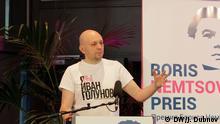 """Sergey Smirnov, Chefredakteur der Internet-Seite """"MediaZona"""""""