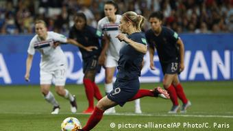A penalty proved the turning point for France against Norway