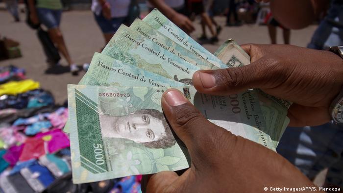 Venezuela Neue Geldnoten