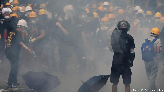 Hongkong protests continued through the week