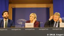 Belgien Brüssel | Europäisches Parlament - Pressekonferenz: Rechtspopulistische Fraktion gegründet