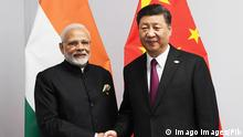 November 30, 2018 - Buenos Aires, Argentina - Indian Prime Minister Narendra Modi, left, shakes hands with Chinese President Xi Jinping before a bilateral meeting on the sidelines of the G20 Summit meeting November 30, 2018 in Buenos Aires, Argentina. Buenos Aires Argentina PUBLICATIONxINxGERxSUIxAUTxONLY - ZUMAp138 20181130_zaa_p138_065 Copyright: xPibx
