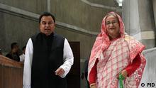 Bangladesch - Premierministerin Sheikh Hasina und Finanzminister Ahm Mustafa Kamel