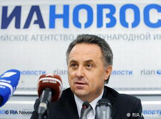 Russland Sportminister Witali Mutko in Moskau