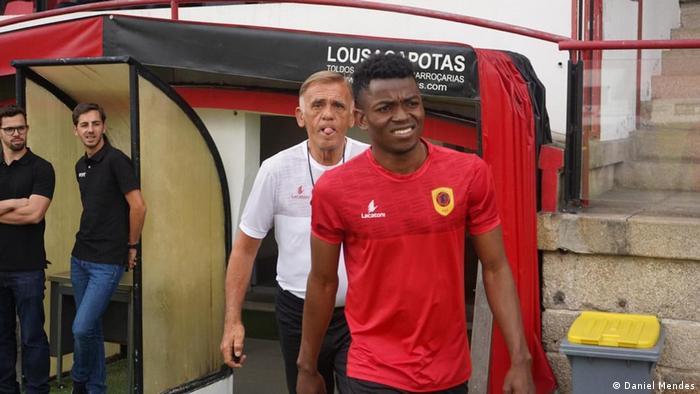 Portugal Algarve - Fußballspieler Gelson Dala aus Angola bereit sich für CAN 2019 vor: (Daniel Mendes)