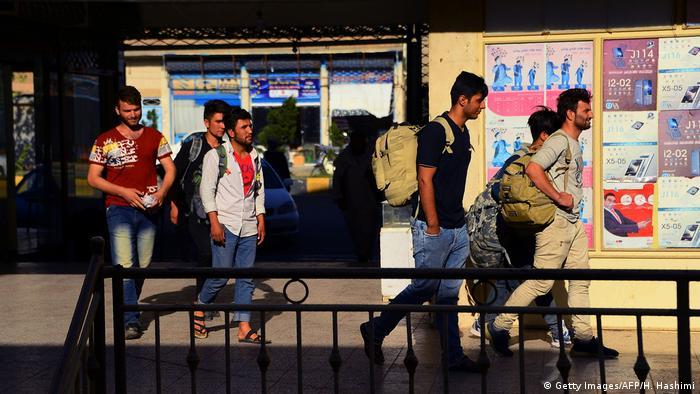 Afghanistan Rückkehrer Provinz Herat (Getty Images/AFP/H. Hashimi)