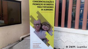 Angola, Albinismus Konferenz