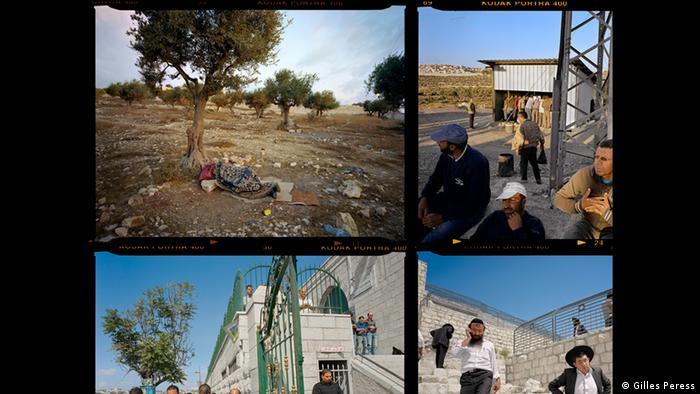 Photos of Jerusalem by Gilles Peress, Contact Sheet/Palestinian Jerusalem, 2013, (Gilles Peress)