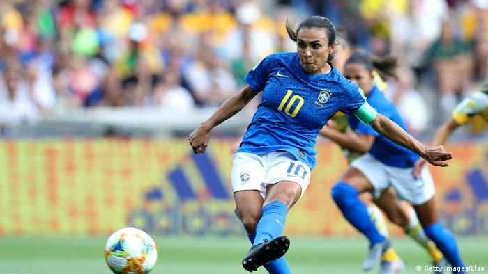 FIFA Frauenfußball WM 2019 Brasilien - Australien (Getty Images/Elsa)