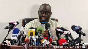 Senegal Aliou Sall Bruder des Präsidenten Macky Sall PK in Dakar (Reuters/C. van der Perre)