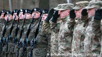Αμερικανοί στρατιώτες στην Πολωνία, στο πλαίσιο της νατοϊκής επιχείρησης Atlantic Resolve