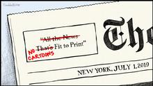Karikatur Vladdo The New York Times