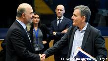 Luxemburg Treffen der Euro-Finanzminister zur Reform der Eurozone