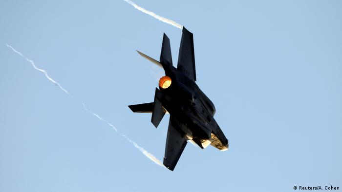 Israel Kampfflugzeug Air Force F-35 (Reuters/A. Cohen)