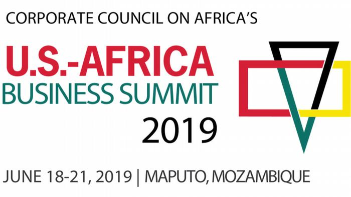 Logo of the 2019 U.S-Africa Business Summit