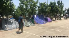 Bosnien Migranten werden an die Grenze mit EU-Land Kroatien verlegt