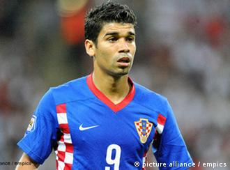 Da Silva u dresu Hrvatske (EURO 2008. godine)