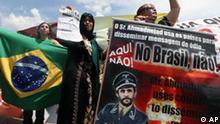 Ahmadinedschad zu Gast in Brasilien