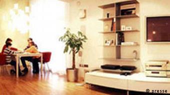 Wohnzimmer Intelligentes Haus