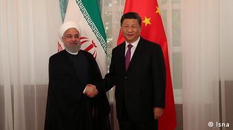 حسن روحانی به همتای چینی خود گفت، ایران از سرمایهگذاری چین در بنادر جنوبی خود استقبال میکند