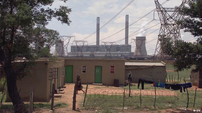 A coal mine in South Africa