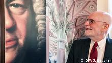 Ton Koopman, neuer Präsident des Bach-Archivs in Leipzig