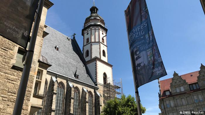 St Thomas Church in Leipzig