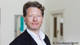 Kristian Jarmuschek chairman of the Federal Association of German Galleries and Art Dealers (Clara Wenzel-Theiler)