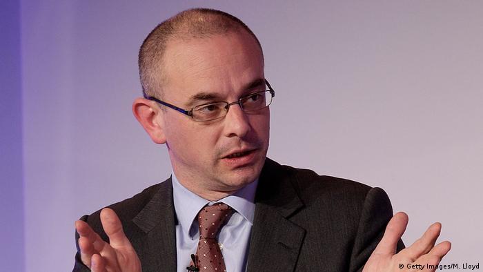 Schweiz Großbank UBS Chefökonom Paul Donovan