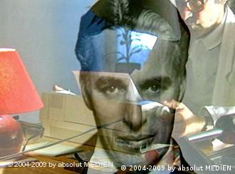 Männerporträt, Doppelbelichtung mehrerer Filmszenen (absolut medien)