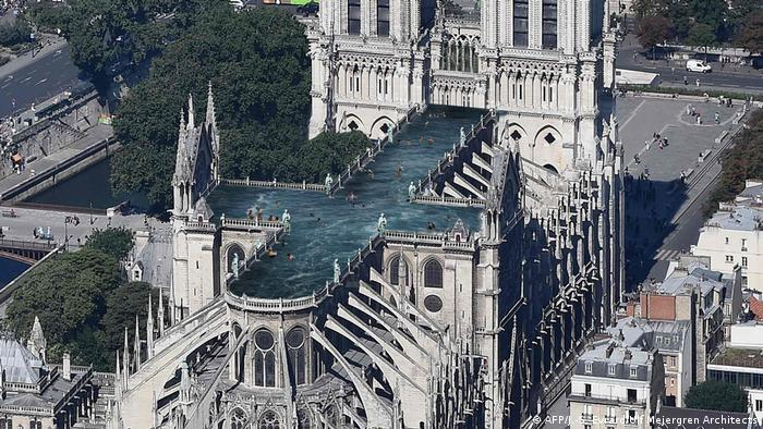 Jedan od maštovitih prijedloga za obnovu: bazen na krovu