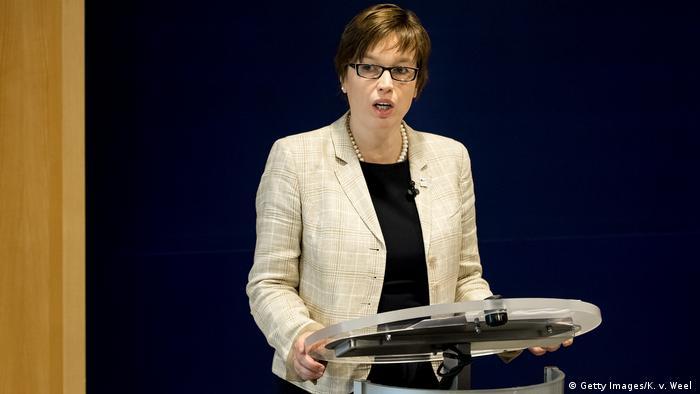 Geschäftsführende Direktorin von Europol Catherine De Bolle (Getty Images/K. v. Weel )