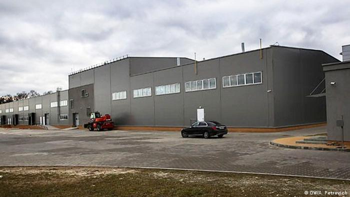 Здание аккумуляторного завода в Бресте, июнь 2019 г.