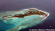 Malediven versinken Klimawandel