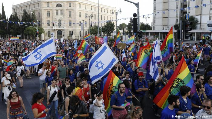 Israel - Gay Pride Parade in Tel Aviv (Getty Images/M. Kahana)