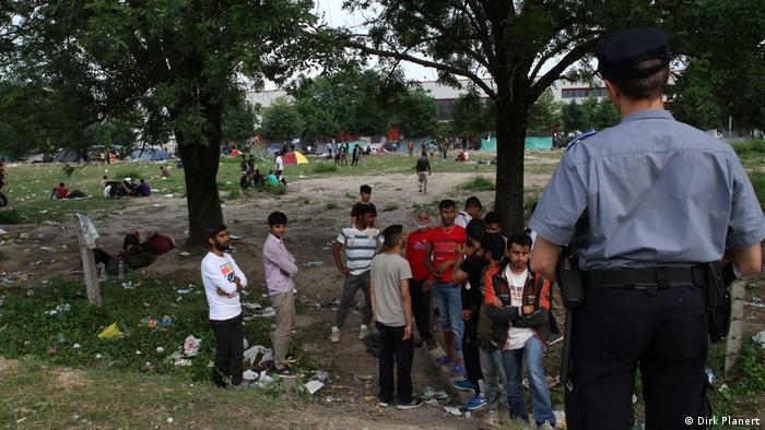 Bosnien Herzegowina Migranten in Bihac