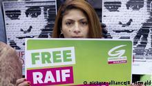 Ensaf Haidar, Frau des Bloggers Raif Badawi