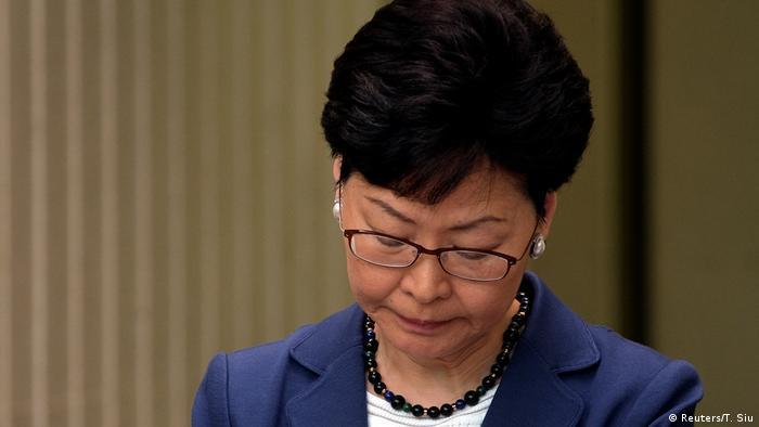 Hongkong Carrie Lam, Regierungschefin (Reuters/T. Siu)