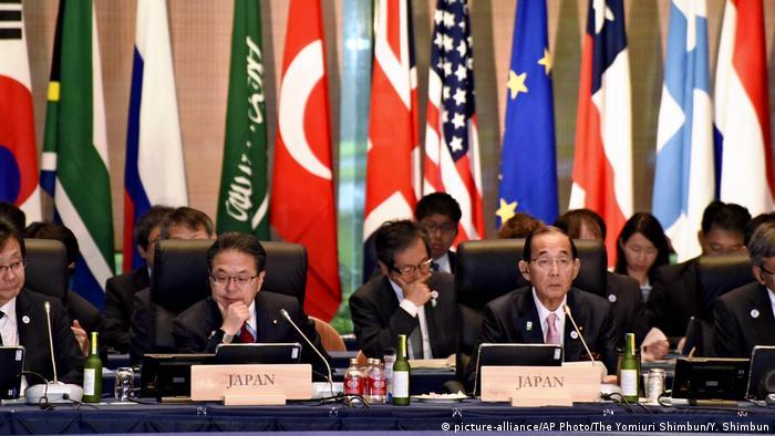 G20 meeting in Japan (picture-alliance/AP Photo/The Yomiuri Shimbun/Y. Shimbun)